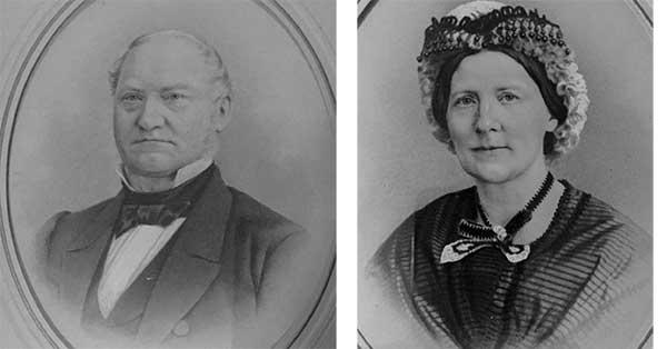 Lars Frykholm och Sophia Elisabeth, f. Arbman