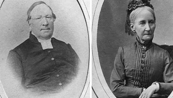 Magnus Frykholm och hustrun Emma